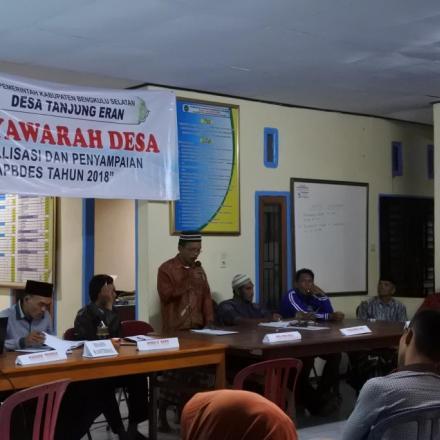Album : MUSYAWARAH DESA PENYAMPAIAN APBDES 2018
